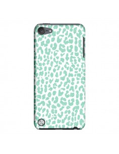 Coque Leopard Menthe Mint pour iPod Touch 5 - Mary Nesrala