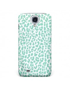 Coque Leopard Menthe Mint pour Galaxy S4 - Mary Nesrala