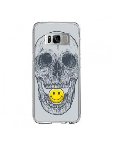 Coque Samsung S8 Smiley Face Tête de Mort - Rachel Caldwell