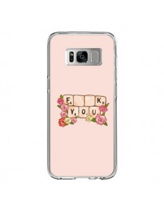Coque Samsung S8 Fuck You Love - Sara Eshak