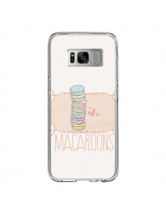 Coque Samsung S8 Macaron Gateau - Sara Eshak