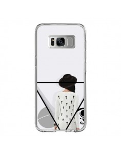 Coque Samsung S8 Confusion Femme Oeil Triangle - Sara Eshak
