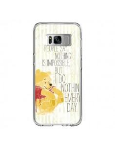 Coque Samsung S8 Winnie I do nothing every day - Sara Eshak
