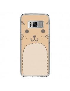 Coque Samsung S8 Big Cat chat - Santiago Taberna