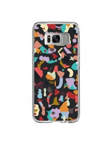 Coque Samsung S8 Dreamy Animal Shapes Black - Ninola Design