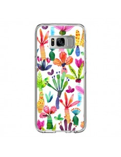 Coque Samsung S8 Overlapped Watercolor Dots - Ninola Design