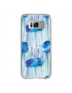 Coque Samsung S8 Rain Stitches Neon - Ninola Design