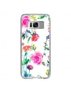 Coque Samsung S8 Raining Clouds Blue - Ninola Design