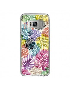 Coque Samsung S8 Tigers and Leopards Yellow - Ninola Design