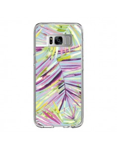 Coque Samsung S8 Tropical Flowers Multicolored - Ninola Design