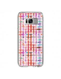 Coque Samsung S8 Tropical Parrots Palms - Ninola Design