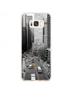 Coque Samsung S8 Plus New York Noir et Blanc - Anaëlle François