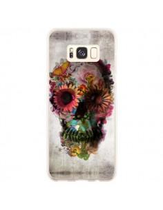 Coque Samsung S8 Plus Skull Flower Tête de Mort - Ali Gulec