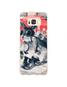 Coque Samsung S8 Plus Lapin Time Traveller - Ali Gulec