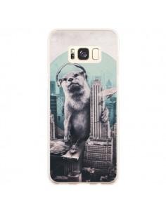 Coque Samsung S8 Plus Loutre Dj New York - Ali Gulec