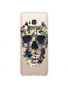 Coque Samsung S8 Plus Skull Vintage Tête de Mort Transparente - Ali Gulec