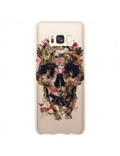 Coque Samsung S8 Plus Jungle Skull Tête de Mort Transparente - Ali Gulec