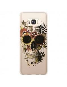 Coque Samsung S8 Plus Garden Skull Tête de Mort Transparente - Ali Gulec