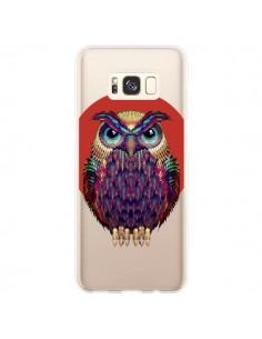 Coque Samsung S8 Plus Chouette Hibou Owl Transparente - Ali Gulec