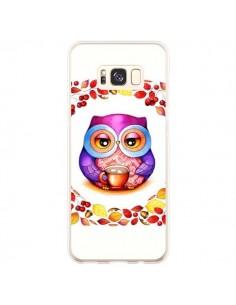 Coque Samsung S8 Plus Chouette Automne - Annya Kai