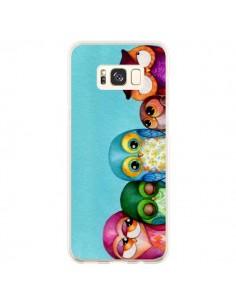 Coque Samsung S8 Plus Famille Chouettes - Annya Kai