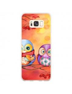 Coque Samsung S8 Plus Chouette Arbre - Annya Kai