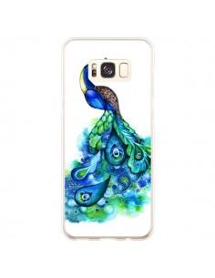 Coque Samsung S8 Plus Paon Multicolore - Annya Kai