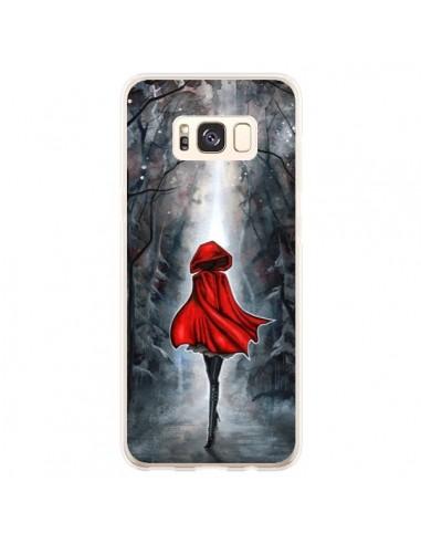 Coque Samsung S8 Plus Le Petit Chaperon Rouge Bois - Annya Kai