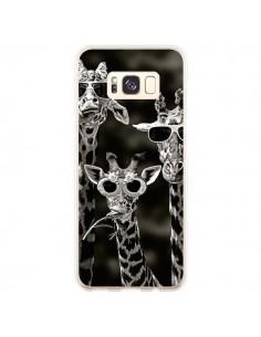 Coque Samsung S8 Plus Girafe Swag Lunettes Familiy Giraffe - Asano Yamazaki