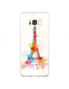 Coque Samsung S8 Plus Paris Tour Eiffel Muticolore - Asano Yamazaki