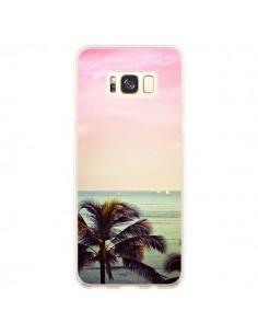 Coque Samsung S8 Plus Sunset Palmier Palmtree - Asano Yamazaki