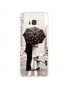 Coque Samsung S8 Plus Secret under Umbrella Amour Couple Love - Asano Yamazaki