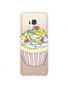 Coque Samsung S8 Plus Cupcake Dessert Transparente - Asano Yamazaki