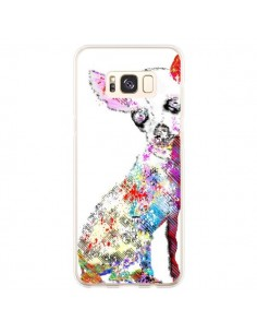 Coque Samsung S8 Plus Chien Chihuahua Graffiti - Bri.Buckley