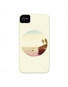 Coque Sweet Dreams Rêves Eté pour iPhone 4 et 4S - Mary Nesrala