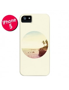 Coque Sweet Dreams Rêves Eté pour iPhone 5 et 5S - Mary Nesrala