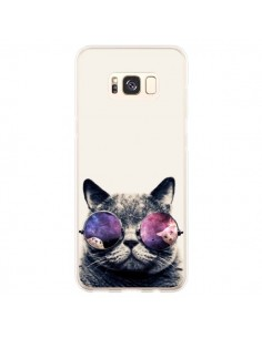 Coque Samsung S8 Plus Chat à lunettes - Gusto NYC