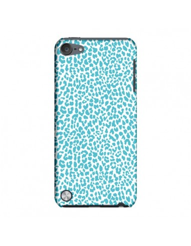 Coque Leopard Turquoise pour iPod Touch 5 - Mary Nesrala