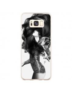 Coque Samsung S8 Plus Femme Ours - Jenny Liz Rome