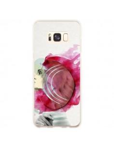 Coque Samsung S8 Plus Bright Pink Femme - Jenny Liz Rome