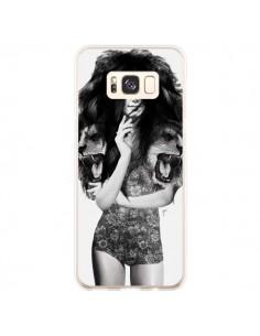 Coque Samsung S8 Plus Femme Lion - Jenny Liz Rome