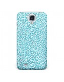 Coque Leopard Turquoise pour Galaxy S4 - Mary Nesrala