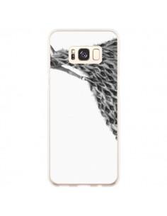 Coque Samsung S8 Plus Peacock Paon Robe Femme - Jenny Liz Rome