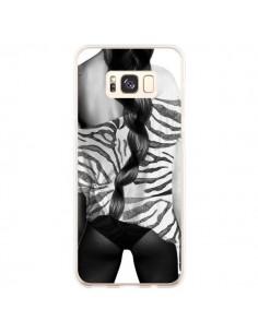 Coque Samsung S8 Plus Femme Zebre - Jenny Liz Rome