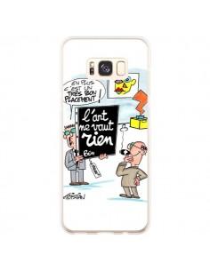 Coque Samsung S8 Plus L'art ne vaut rien - Kristian