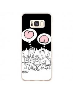 Coque Samsung S8 Plus L'amour selon homme et femme - Kristian