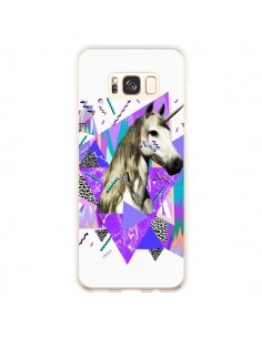 Coque Samsung S8 Plus Licorne Unicorn Azteque - Kris Tate