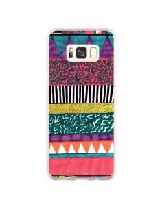 Coque Samsung S8 Plus Azteque Dessin - Kris Tate