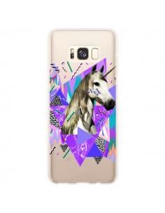 Coque Samsung S8 Plus Licorne Unicorn Azteque Transparente - Kris Tate