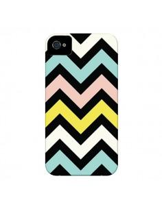 Coque Azteque Chevron Sunny pour iPhone 4 et 4S - Mary Nesrala